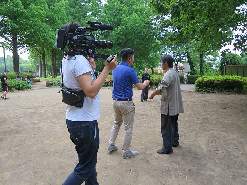 『功夫少林』日本での撮影
