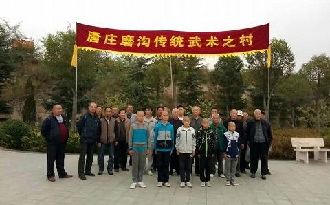 少林国際少林武術節で磨溝拳を披露